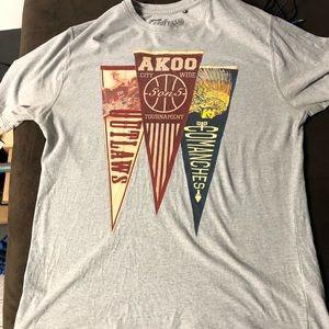 Akoo Grey T-shirt 3xl